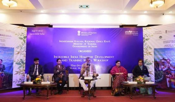 Tourism Minister Sh. Prahlad Singh Patel inaugurates 3 days Incredible India Mega Homestay Development & Training Workshop in Darjeeling