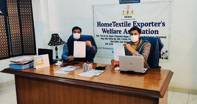 Hewa urged Hon'ble PM's Intervention for continuation of (WTO Compliant) RoSCTL scheme till RoDTEP rate notification for achieving targeted goals of employment generation