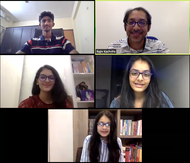 Speech and Debate India students advance Globally!